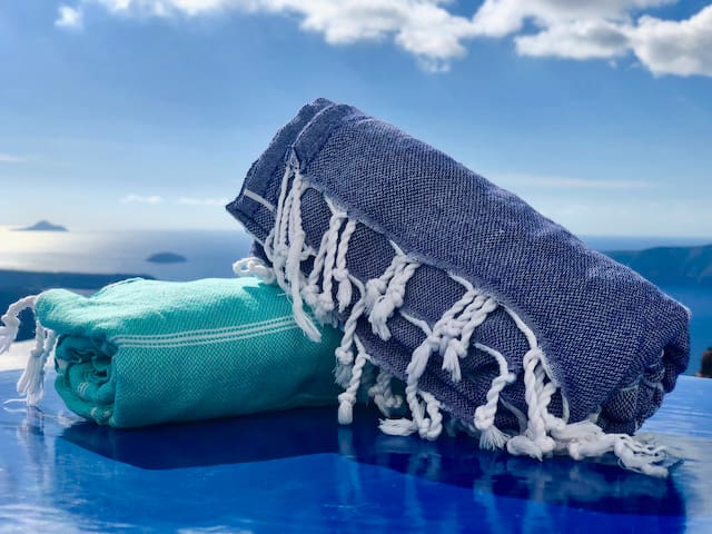 Beach towels / light wraps for your use