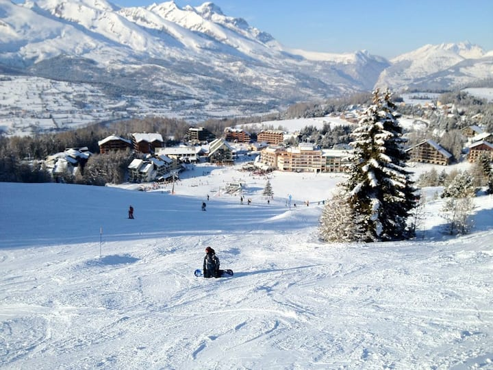 ski montagne soleil