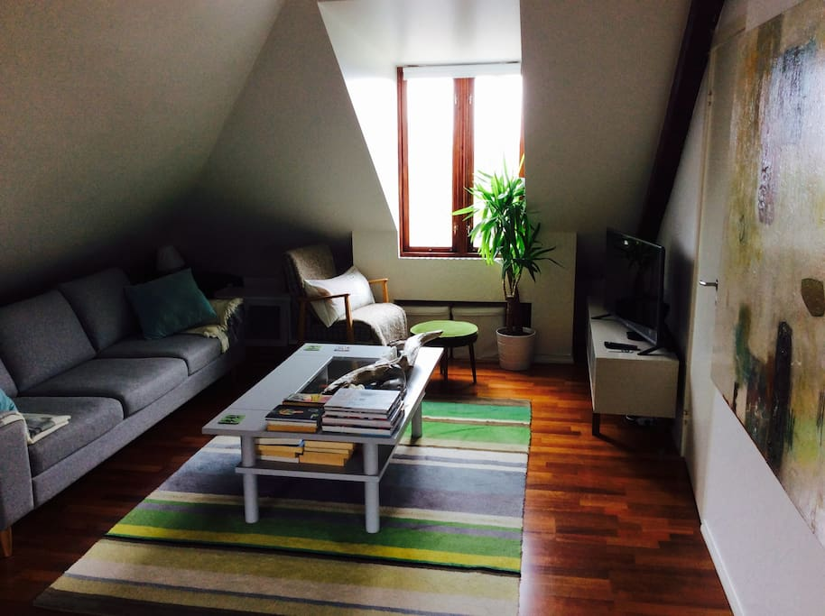 Living and relaxing area