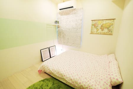 《Beautiful and relax apartment》near Night Market. - 中壢區 - Apartamento
