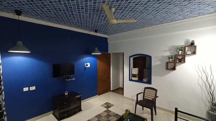 Peaceful  Hill Stay 1BHK for 👫Couples