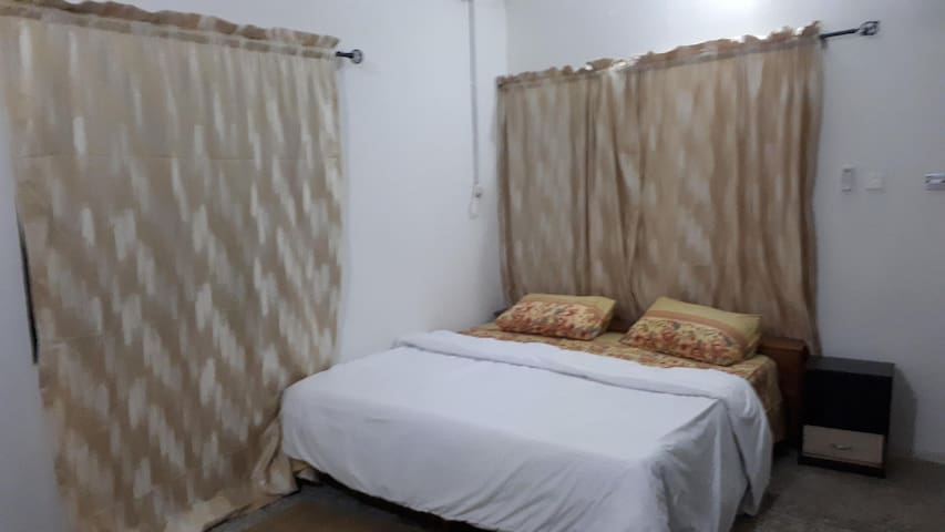 A quiet 2 bedroom apartment within a gated estate