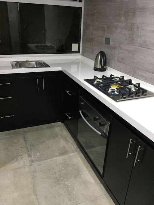 Cocina espacio común