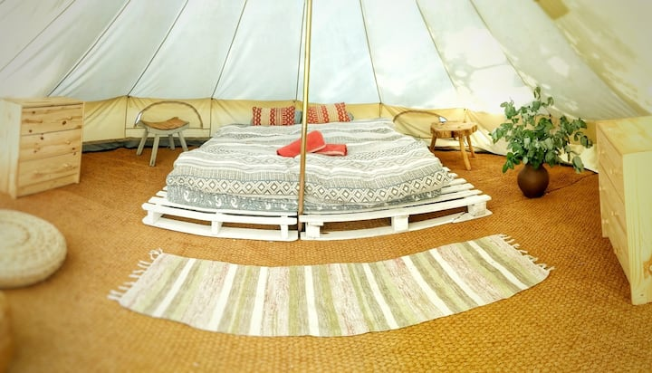 Glamping at The Shanti Space # 3