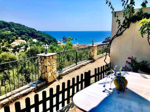 Villa Kiki- cozy apartment with sea view