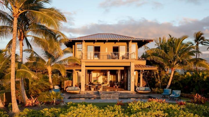 Modern Beachfront Residence