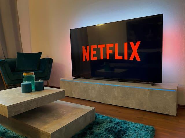 Gelsenkirchener 2 Zimmer Wohnung mit Netflix&Prime