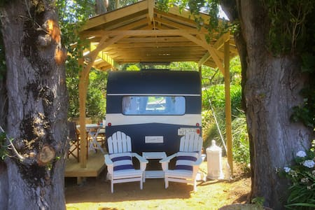 Connie the Caravan: a private getaway