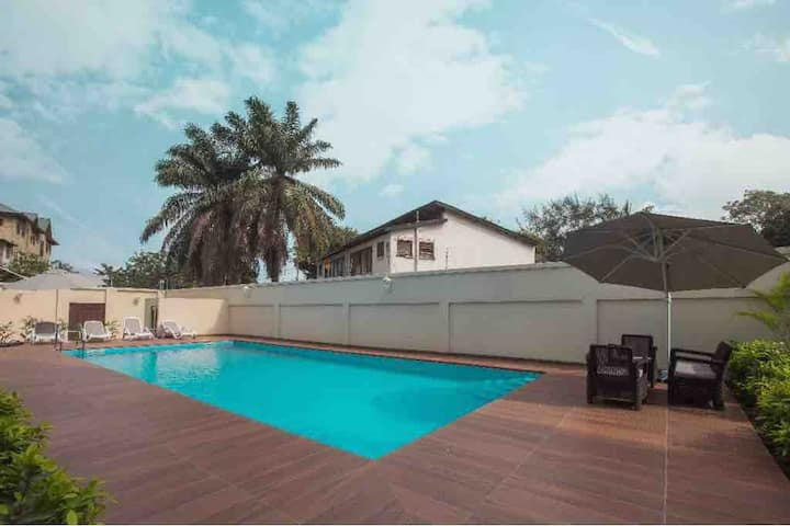 Luxury 2BR apartment in heart of Accra