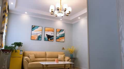 豆芽家庭公寓新华街区店|东方百盛、富强路小吃街