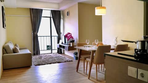 Soekarno Hatta機場附近的公寓, 2居室, 63平方米
