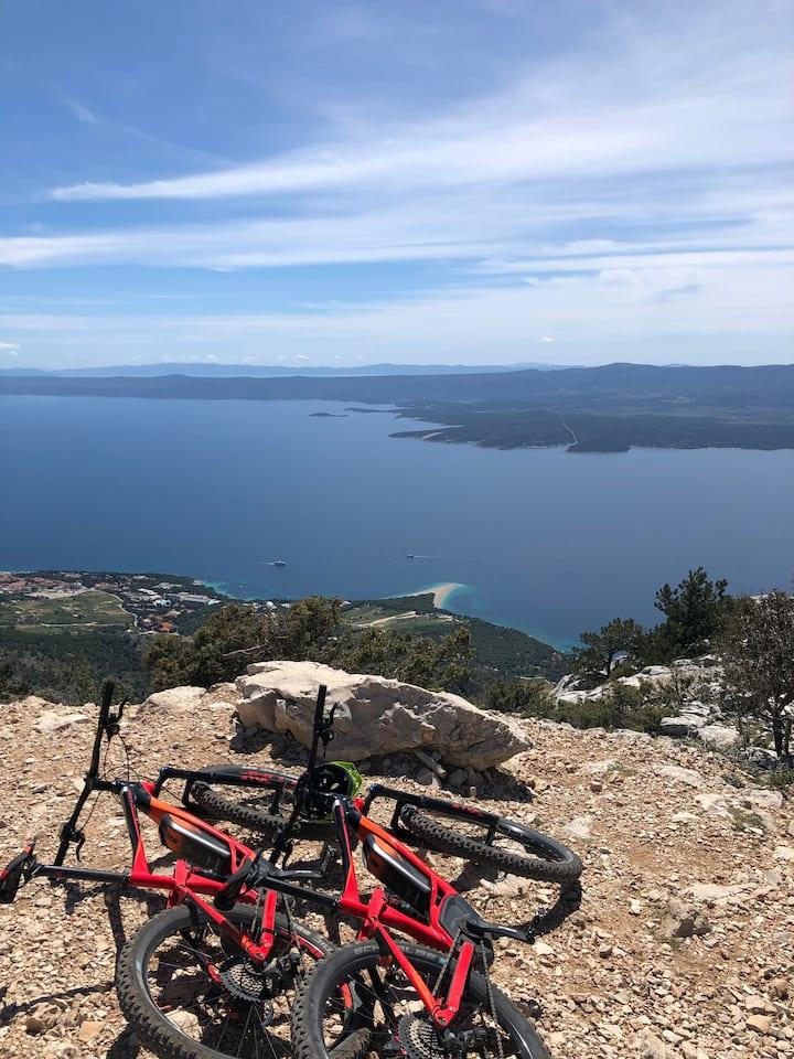 On the top of Vidova Gora