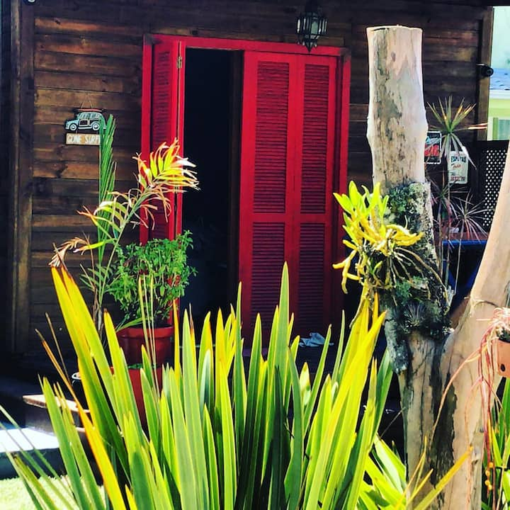 Bungalow Casal 30 metros da Lagoa e 5 min do Rosa