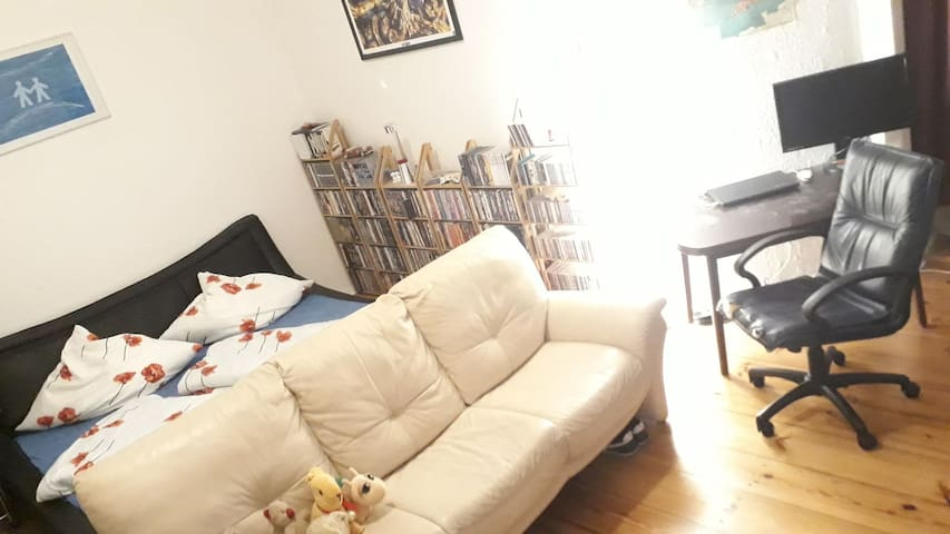 Cute 1-Roomer plus kitchen & full bath