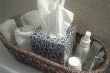 Necessities that you may have forgotten in the bathroom.