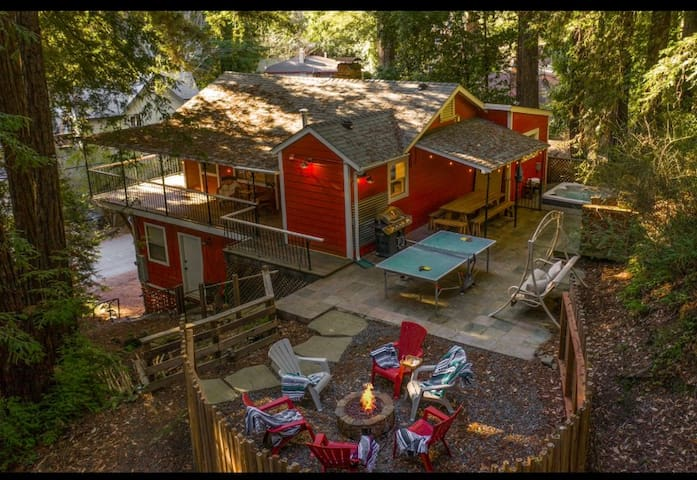 Relaxing Guerneville Retreat!!
