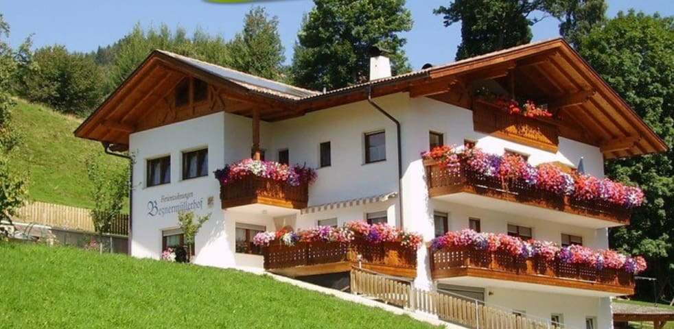 Beautiful Holiday Apartment Boznermüllerhof-Geranie with Wi-Fi, Balcony & View Over the Landscape; Parking Available, Pets Allowed on Request