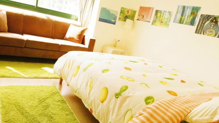 Double Room~Near Metro Station and Futian port