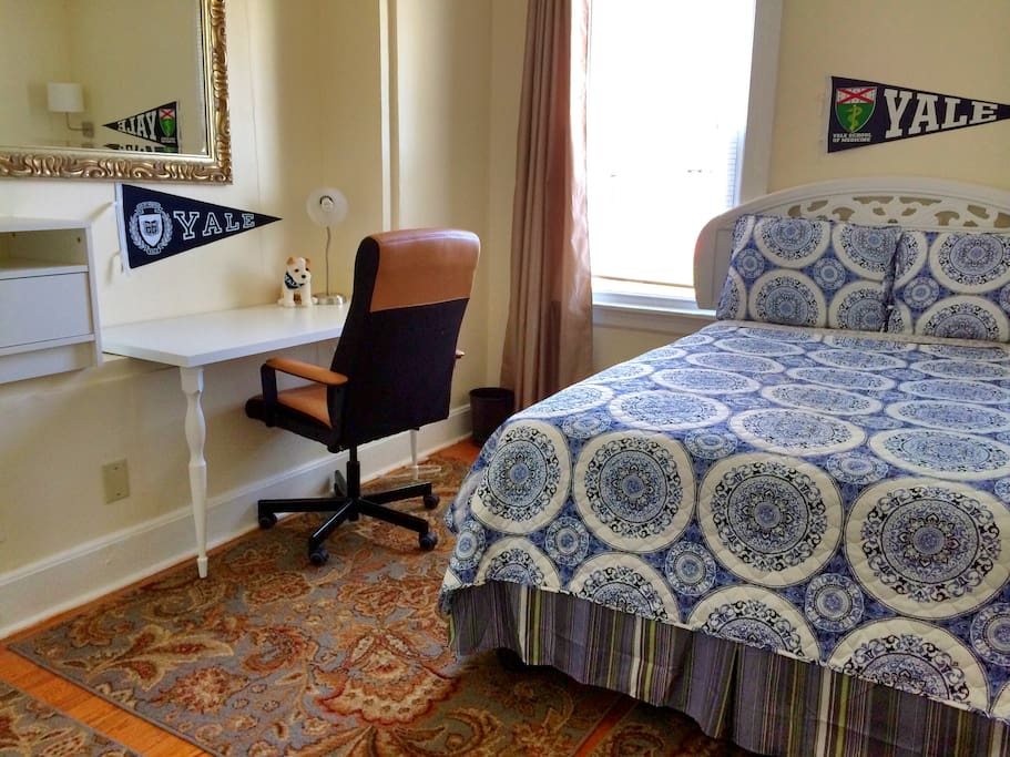 Furnished room with plenty of dresser & closet space