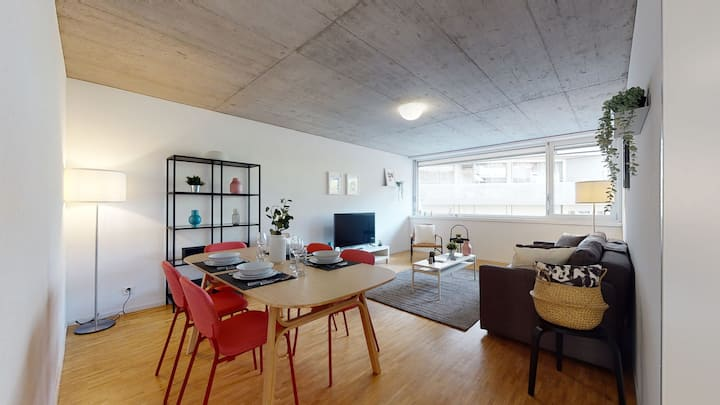 Bright and luminous ☀ 2-bedroom-flat in downtown