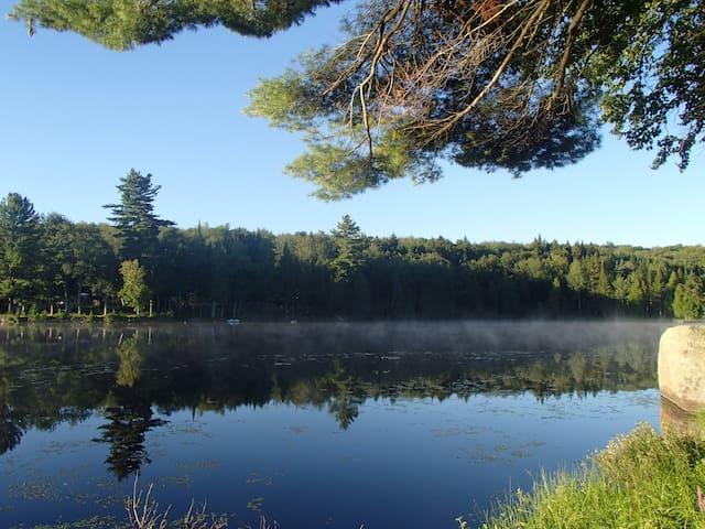 Notre petit paradis au bord du lac