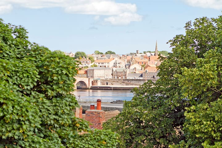 Tweed View Apartment - Tweedmouth - Apartemen