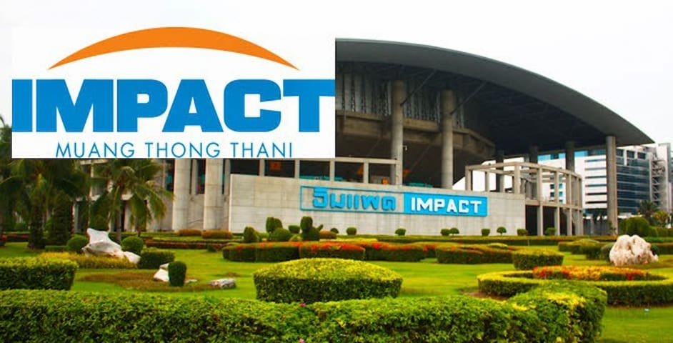 Impact Muang Thong Thani International Exhibition Center. (10 minutes away, approximate transportation cost by taxi/cab is 60 Thai Baht).