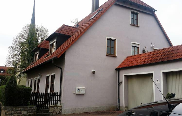 Ferienwohnung mit viel Platz........ - Gaukönigshofen - Appartement