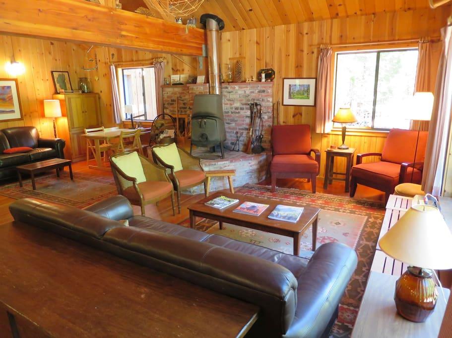 COZY, comfortable living room