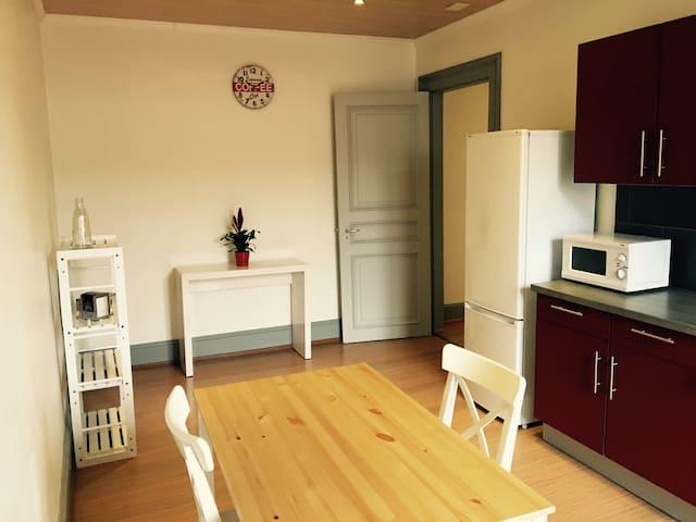 Grand appartement de charme 65m2 spacieux lumineux - Mulhouse - Departamento