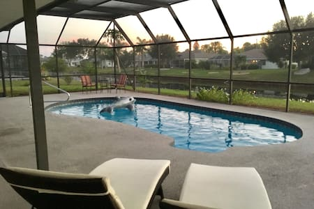 Cozy, comfortable 3/2, pool & canal - Rotonda West