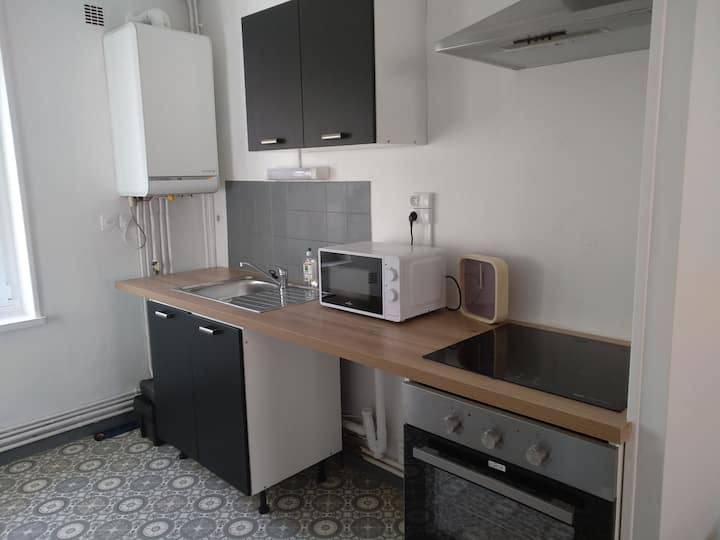 Cozy appartement, trés bien équipé