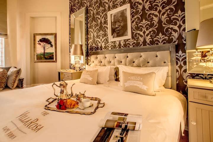 The Villa Rosa superior room