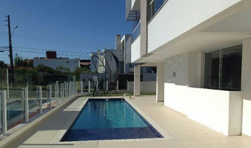 Quarto em cobertura linda na praia campeche - 100m - Florianópolis - Appartement
