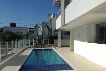 Quarto em cobertura linda na praia campeche - 100m - Florianópolis - Apartament