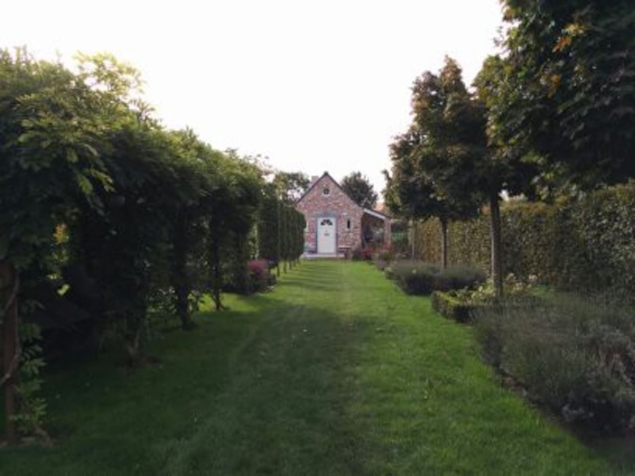 Au fond du jardin