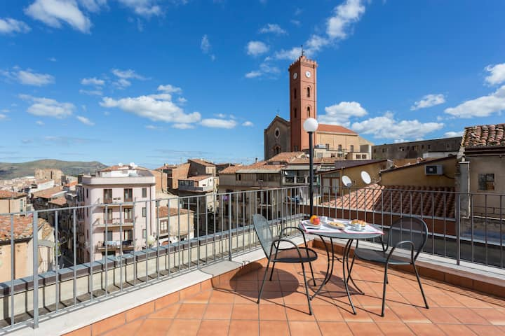 Casa Spazioscena Polimnia with panoramic terrace