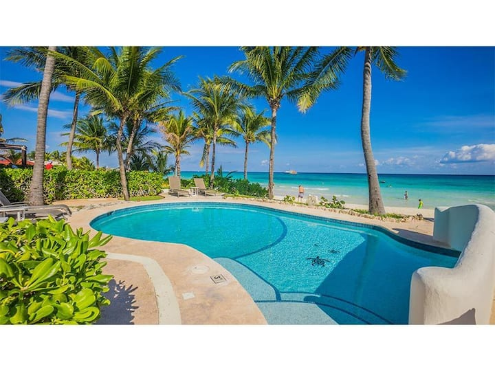 Luxury Villa for friends or Family - Beachfront w/pool