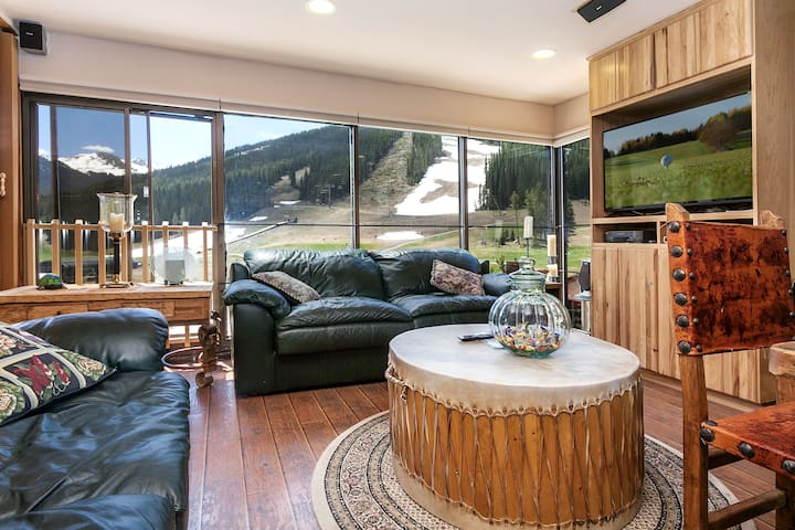 Copper Mountain Condo steps from the Super B Lift - Copper mountain - Apto. en complejo residencial