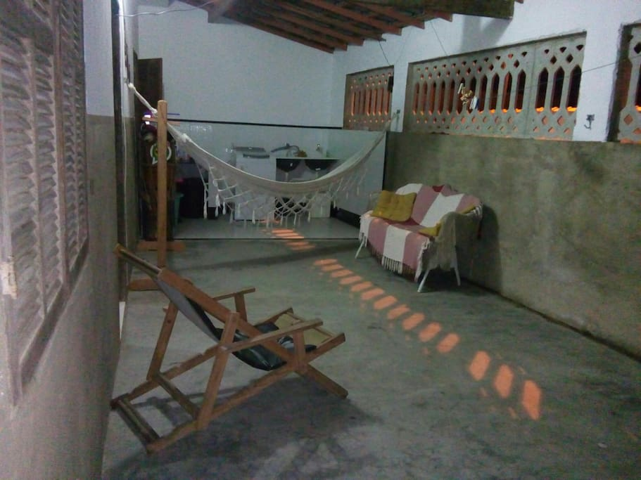 Área e lavanderia