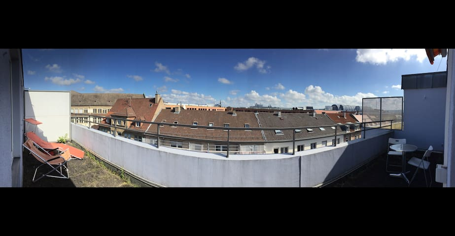 City Apartment - Wohnen über den Dächern der Stadt