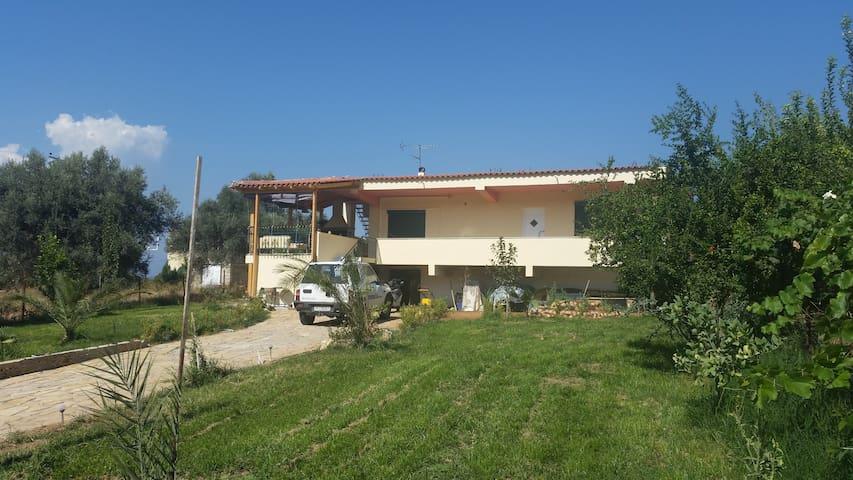Schönes freistehendes Ferienhaus - Skala Oropou - Talo