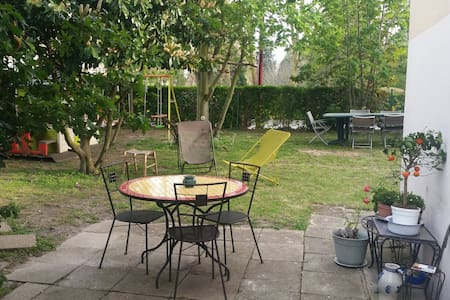REZ DE JARDIN 15' ORLY 30' PARIS - Fresnes - Apartment