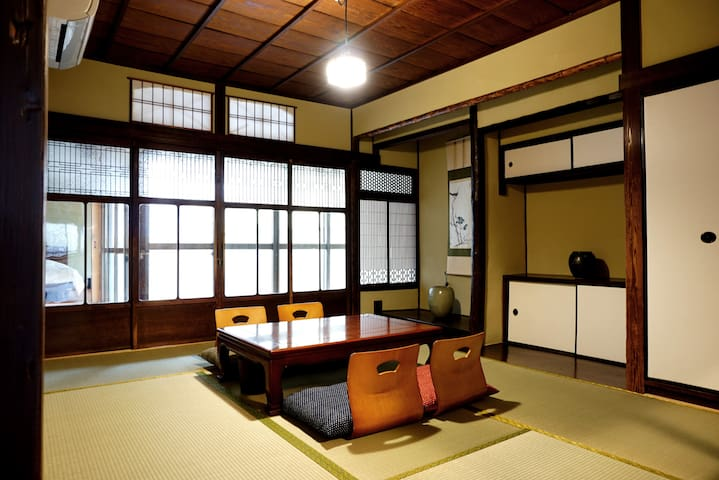 Near kyoto station Cozy room in traditional house
