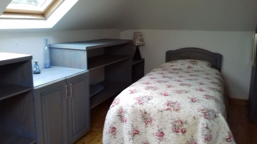 Single room in scenic countryside