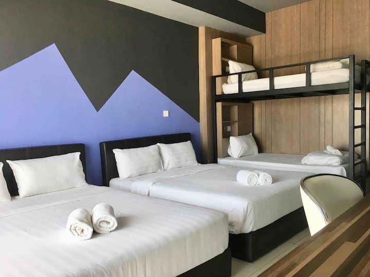 Jio Suites Aeropod Friends Room for 6旅伴六人套房