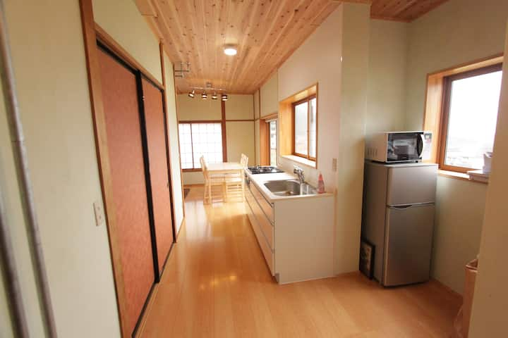 Ninjin House- warm modern Japanese home.