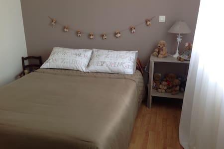 Chambre cosy à 2 pas du Futuroscope - Dissay