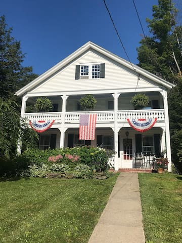 Historic Village Home, Walk to HOF and Induction