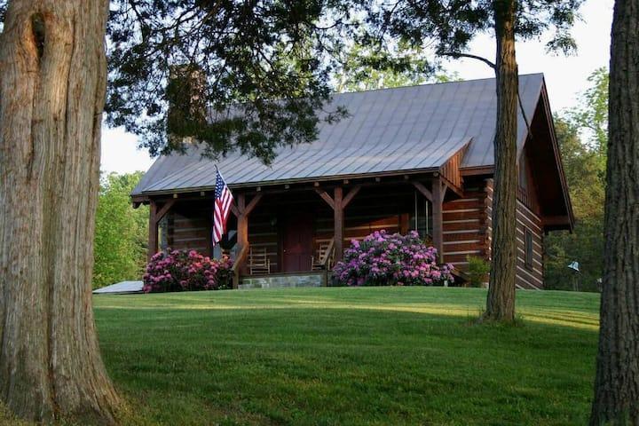 Virginia Log Cabin